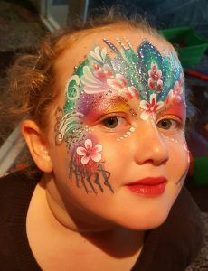 face painting work