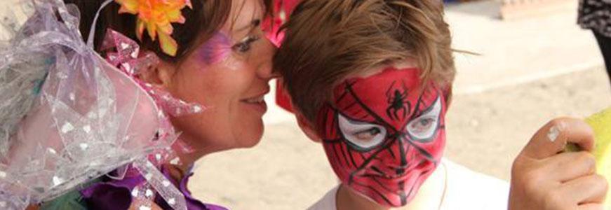 Photo of Sas with spiderman